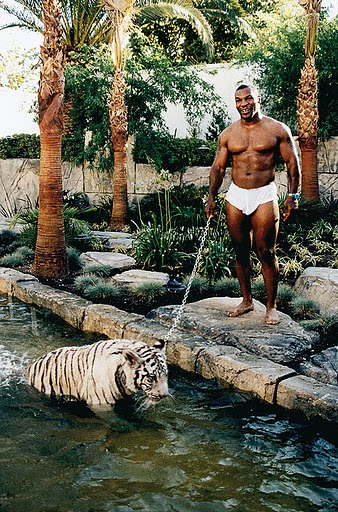 Mike Tyson didn't really need 3 Royal Bengal Tigers. Now he's happy spending time with his family.