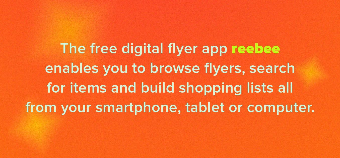 free digital flyer app reebee